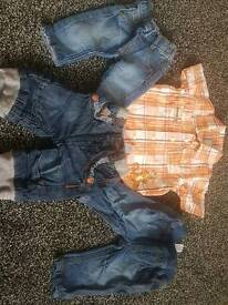 New born boys clothes bundle