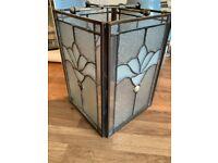 Ornate Glass Lampshade