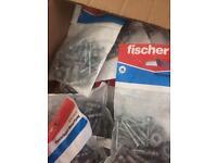 Fischer plasterboard fixings
