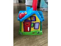 Leapfrog discovery house with sounds