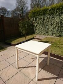 IKEA Ingo solid pine wooden table painted white/cream *QUICK SALE NEEDED*