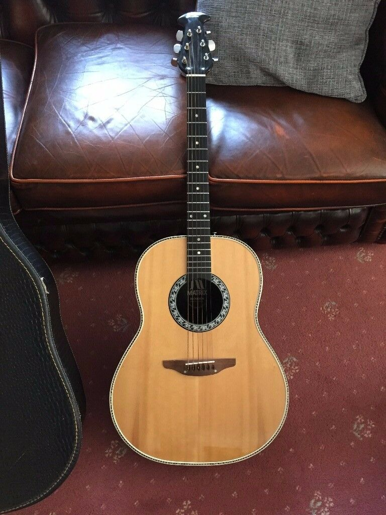 price drop ovation matrix usa acoustic guitar in omagh county tyrone gumtree. Black Bedroom Furniture Sets. Home Design Ideas