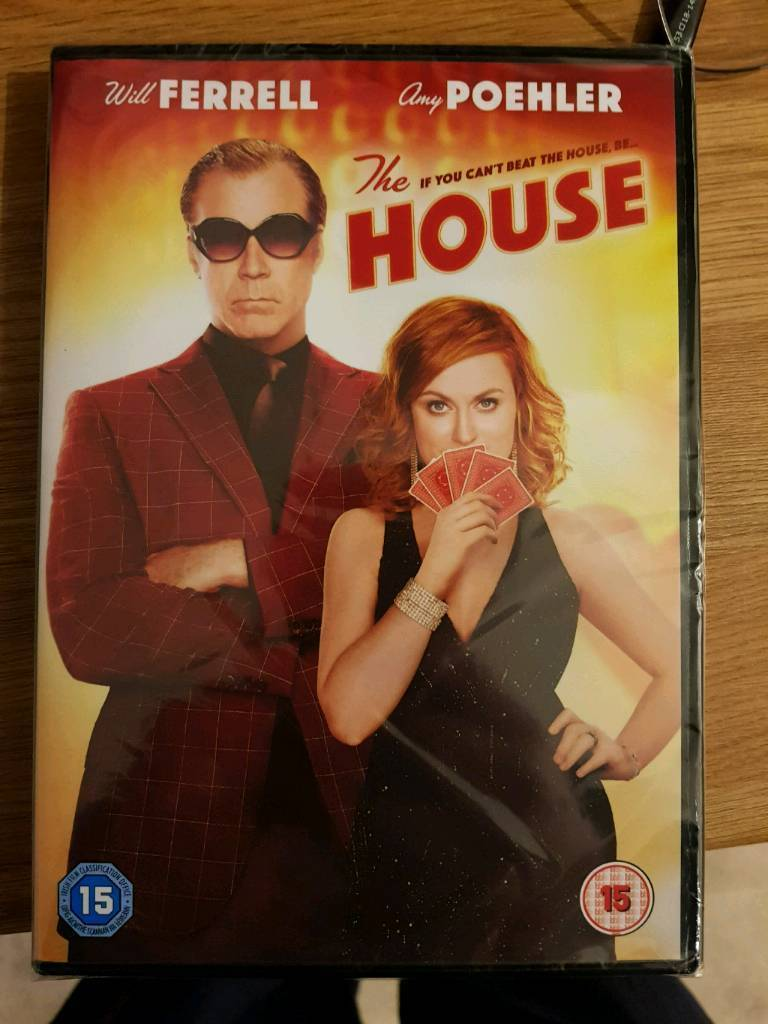 The House DVD unsealed