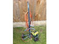 Heat Shrink Wrap gun, trolley, hose and regulator