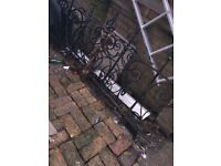 Raw iron gates 16ft.. by 2ft high