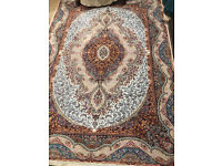 ***LIKE NEW LOVELY COLOURFUL ARABIAN/ OTTOMAN/ TURKISH/ IRANIAN CARPET - HARDLY USED, NO STAINS***
