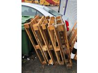 Wooden EURO Pallets 1.2 x 0.8m - Good condition Strong - Hounslow