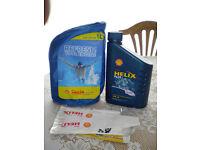 Shell Helix motor oil