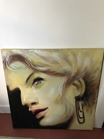 *Any Offers? Large Canvas Painting