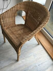 Wicker / Rattan Chair for Conservatory / Lounge