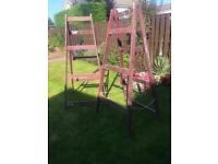 NO LONGER AVAILABLE Wooden painters trestles/builders trestles