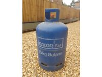 CALOR GAS 15KG BUTANE BOTTLE WITH GAS (Weight 22.5kg)