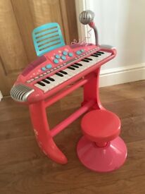 ELC Keyboard and stool in excellent condition £15