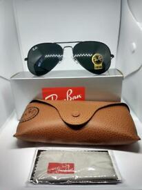 Ray-ban aviator sunglasses black