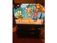 65 inch smart led tv on glass stand full hd freeview wifi with remote £200