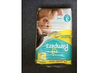 Pampers premium protection size 3 nappies