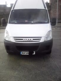 iveco daily 35s12 mwb in good clean condition 7 month mot excellent runner £3.300 px welcome