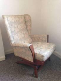 Rocking arm chair