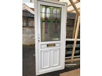 Pvc used front door