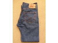 Mens Levi's 501 original blue jeans 32X32 - Perfect condition