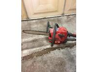 Chainsaw and 3 petrol strimmer spears or repair
