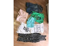 Bundle of age 7-8 girls summer clothes