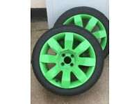 Clio Sport Alloy Wheels With Tyres Set of 4