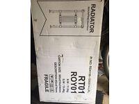 Traditional radiators - chrome, towel heater