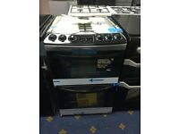 New Ex-Display ZANUSSI ZCG43330XA Gas Cooker 55cm - Stainless Steel £349