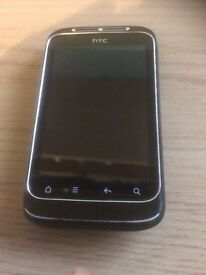 Black HTC Wildfire S Excellent Working Condition
