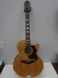 Takamine 12-String Electric-Acoustic Guitar - We Buy and Sell Pre-Owned Instruments - 11934 Je627405