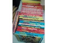 30 Assorted Annuals from 70s&80s,Victor,Tiger, Hotspur