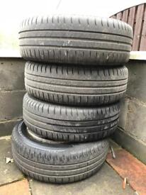 Seat ibiza tyres and trims 185/60/16