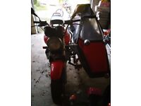Honda CB 1000 sidecar