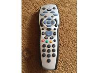 Sky + hd box with remote