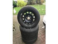 "4x 16"" BMW Snow Winter All Season Winter Tyres and Wheels"