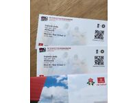England Vs India 1st t20 at Old Trafford Manchester - 2 Tickets Adult
