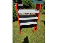 Steel / metal Rack - three shelf - ideal for van.