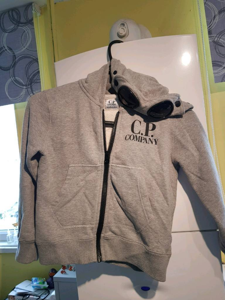 Genuine Cp Company grey hoodie age 6 immaculate condition