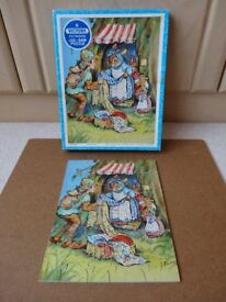 """Victory """" Pixie Pedler"""" Wooden Jigsaw Puzzle"""
