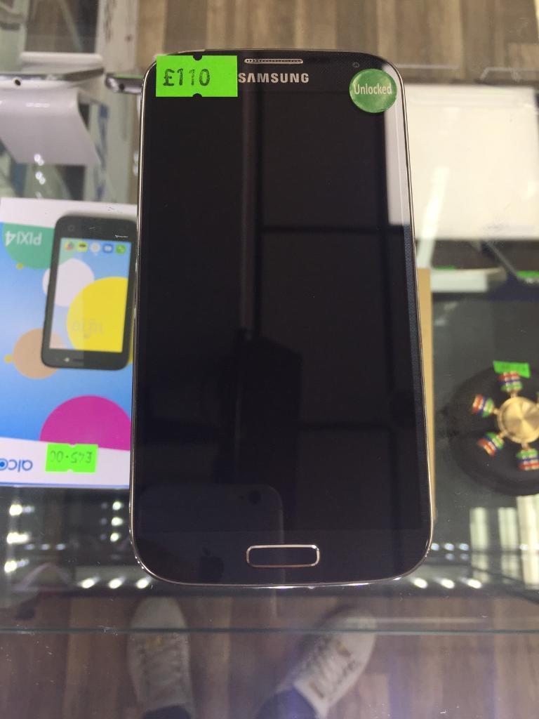 Samsung Galaxy S4 Unlocked Blue Color