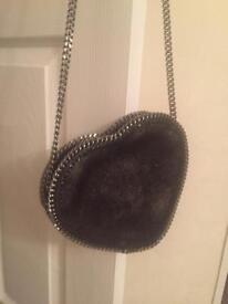 Stella McCartney gorgeous black heart shaped bag £150