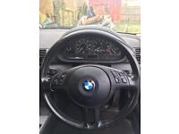 Bmw e46 multifunction leather steering wheel with airbag