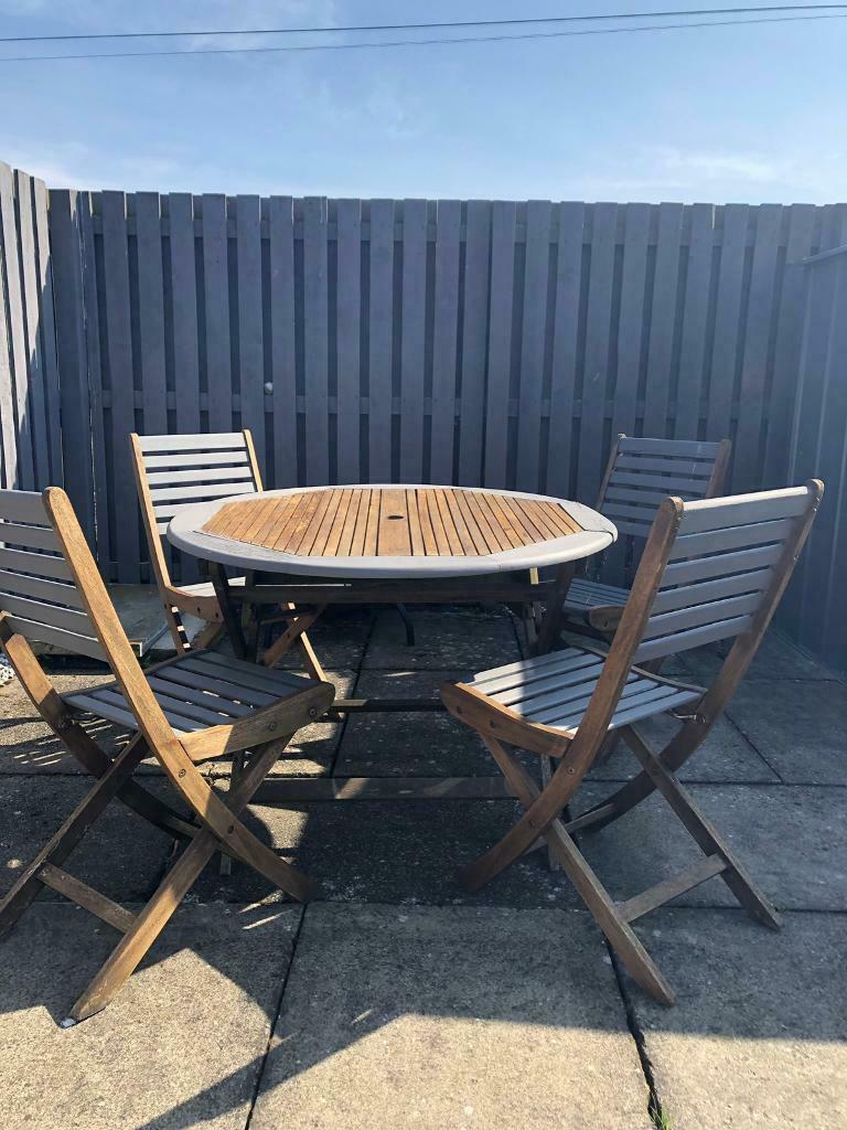 Garden table and chairs | in Cardenden, Fife | Gumtree