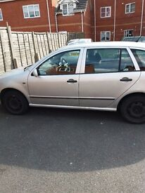Skoda fabia combi The car is in good condition has a new clutch brake has no new mot
