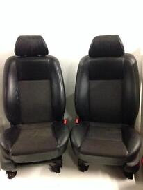 Ford Mondeo St Half Leather & Cloth Front Seats 2005
