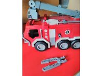 Imaginex Fire Station and Fire Engine