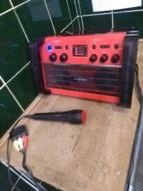 CDG Karaoke machine central London bargain