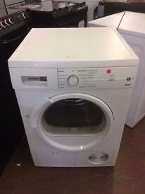SIEMENS 8KG HEAT PUMP CONDENSER DRYER RECONDITIONED