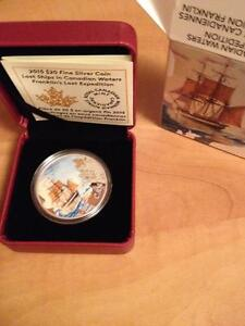 Lost Ships Canadian Coin